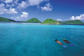 Snorkelling on St Thomas