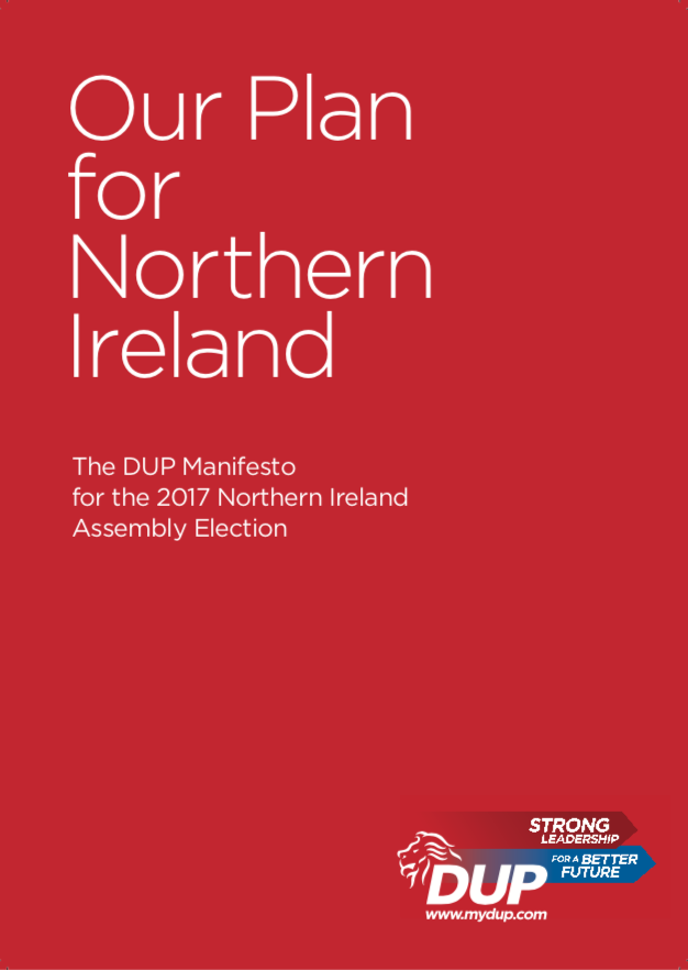 2017 Assembly Manifesto Front