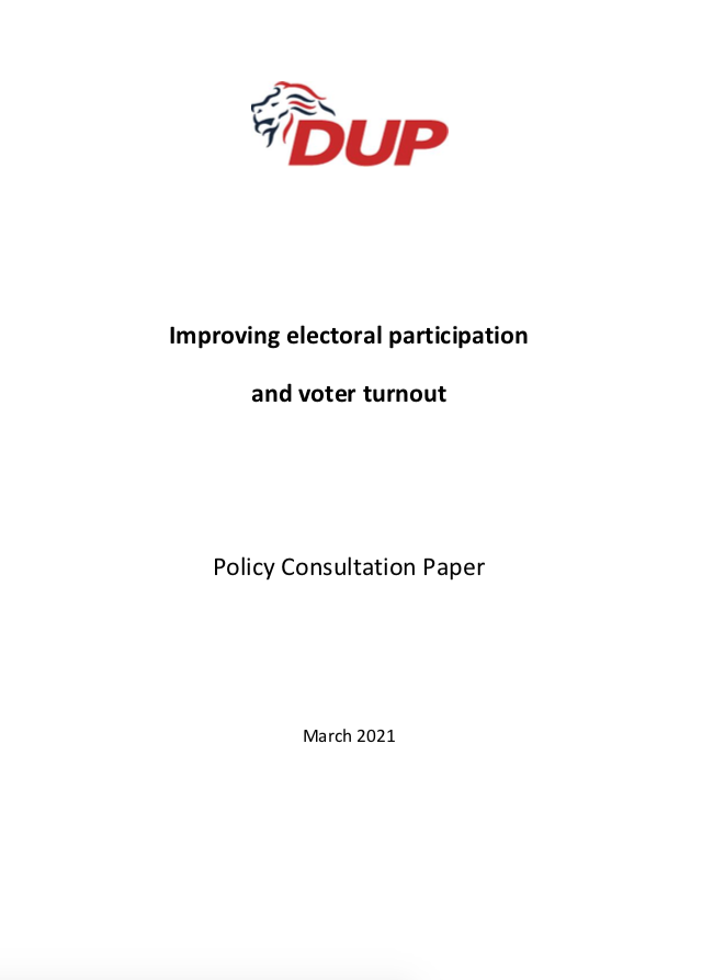Consultation Electoral participation FP