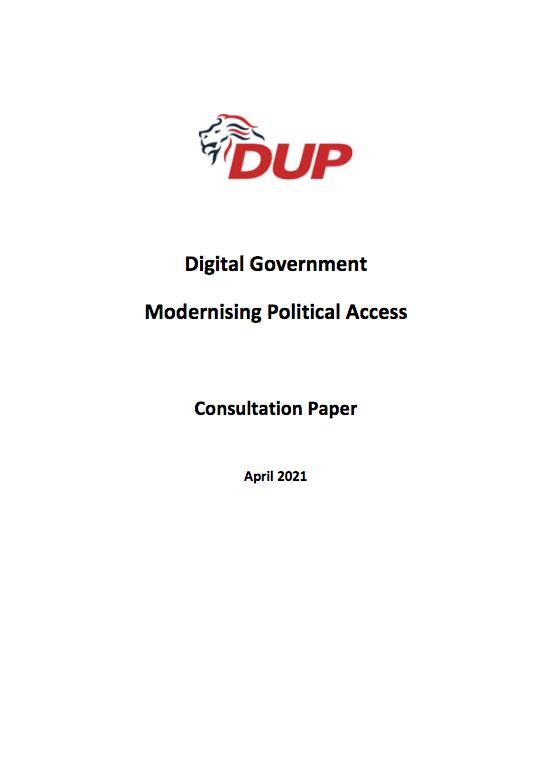Digital Government Consultation FP
