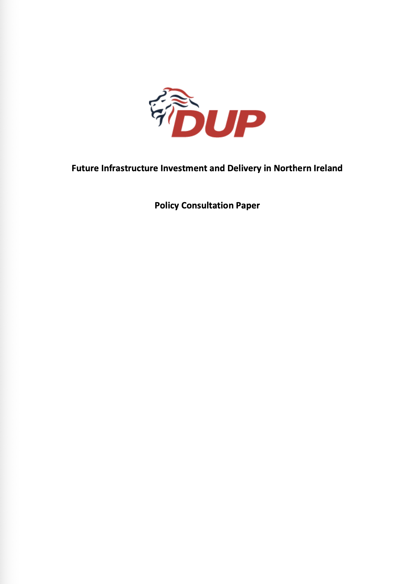 Infrastructure Paper