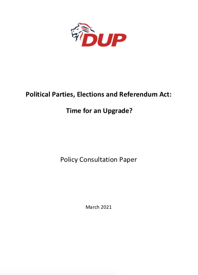 PPERA Consultation FP