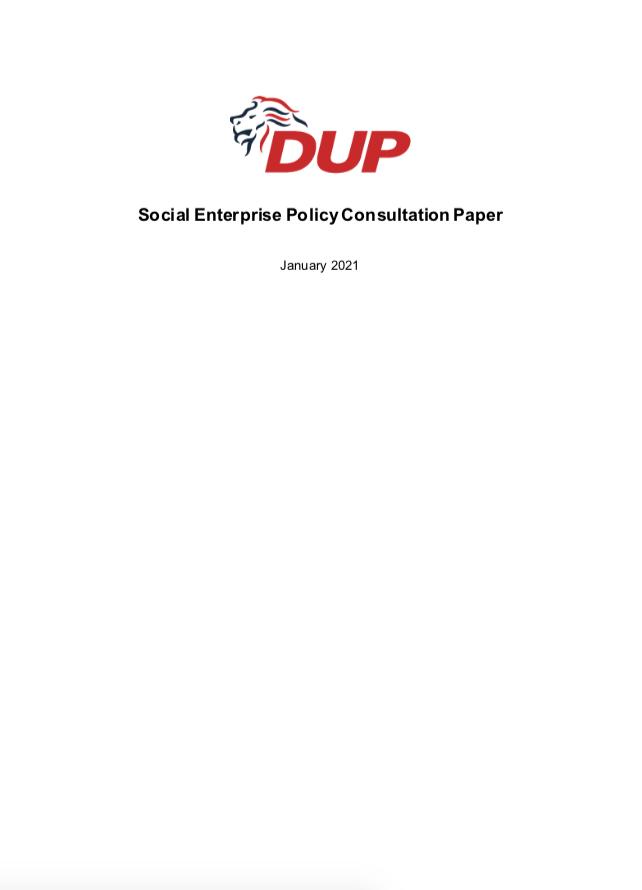 Social Enterprise Consultation