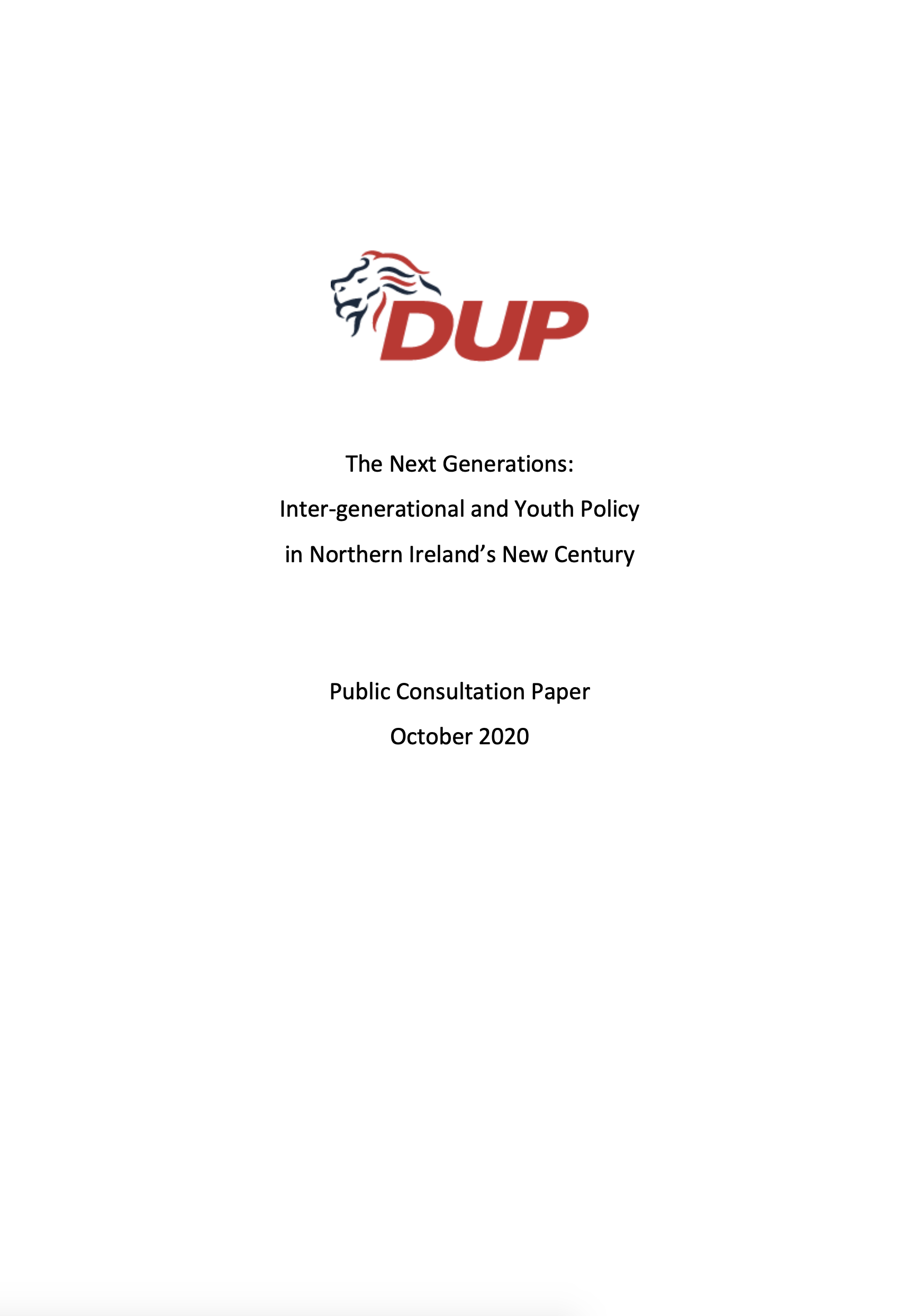 Youth Policy Paper