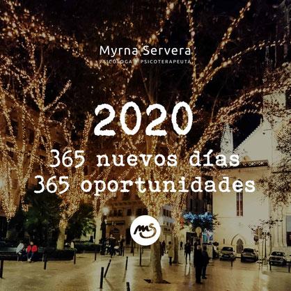 2020: 365 nuevos días, 365 oportunidades