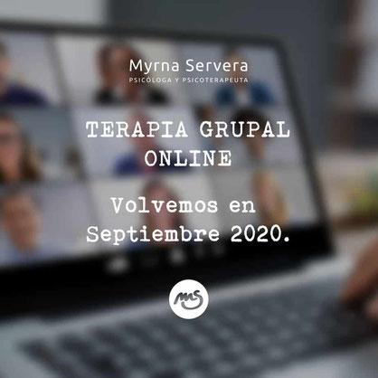 Una sesión de cierre, broche final para los grupos de psicoterapia 2019 - 2020
