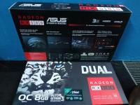 كارتين شاشة Asus RX 580 8GB جديدة ضمان 3 سنوات