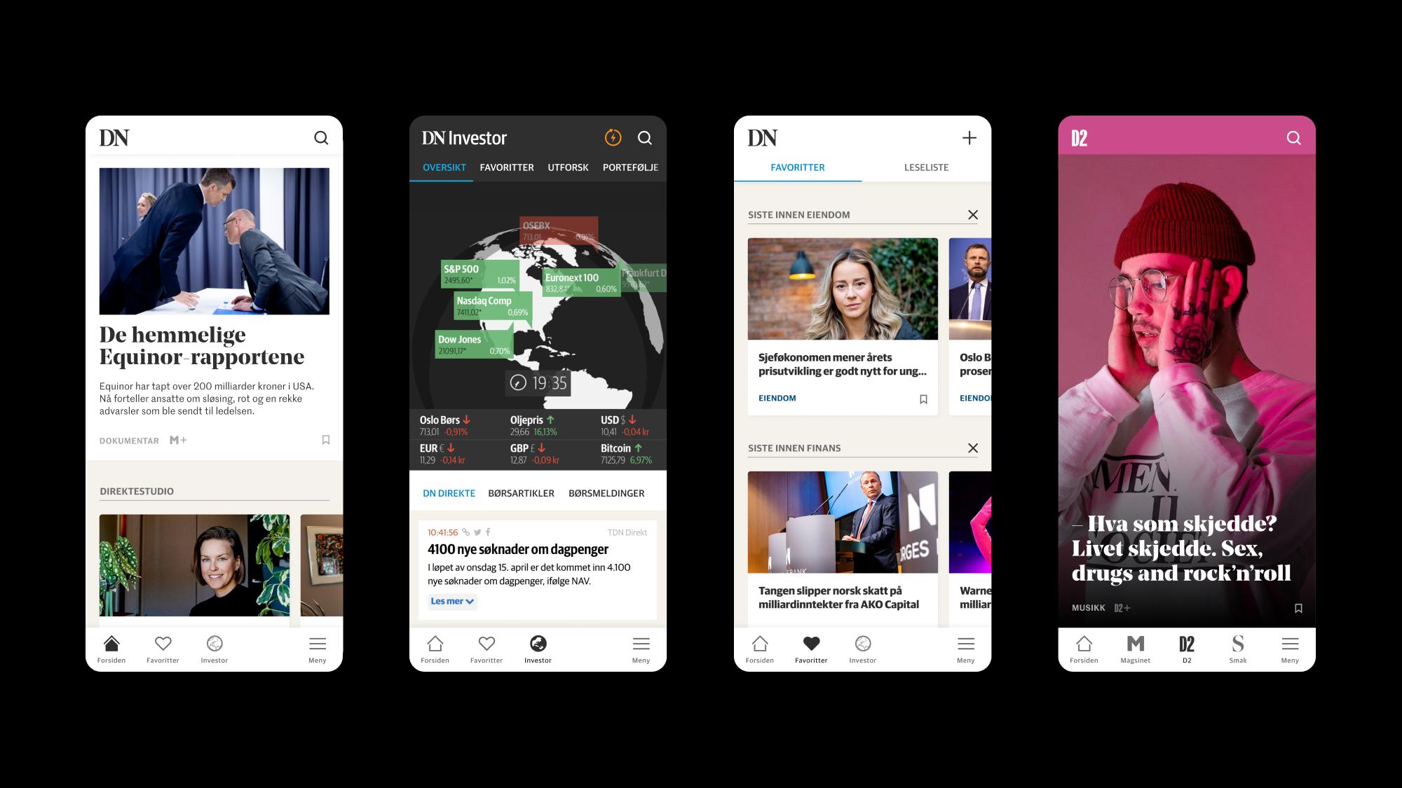 Den nye appen til Dagens Næringsliv