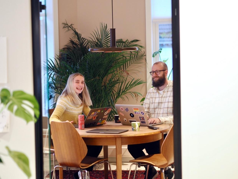 Bilde fra kontoret i Bergen med dine fremtidige kollegaer