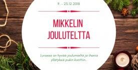 JOULUTELTTA PÄIVÄKOHTAISET PAIKAT 9.-23.12.