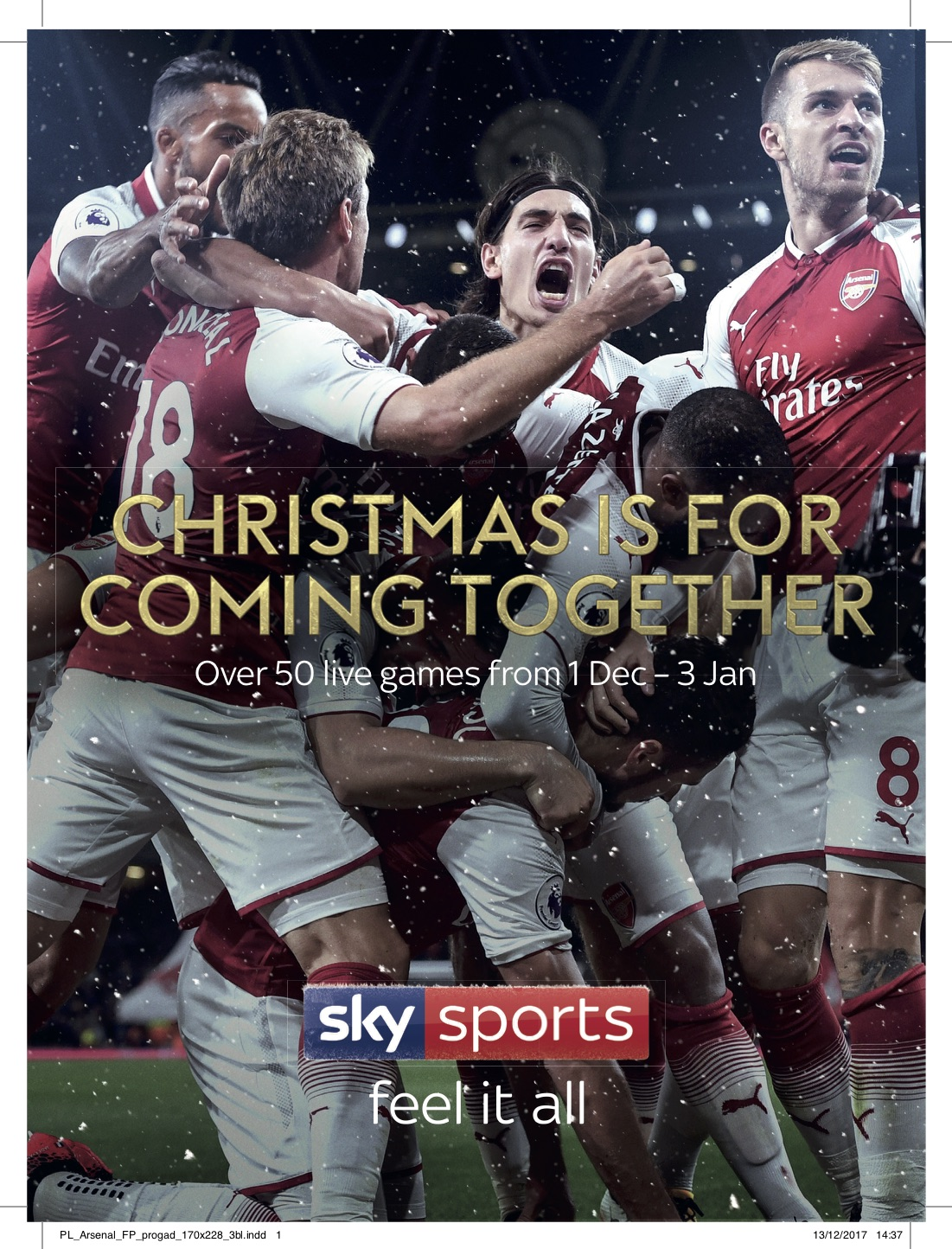 Christmas Is For Football-support