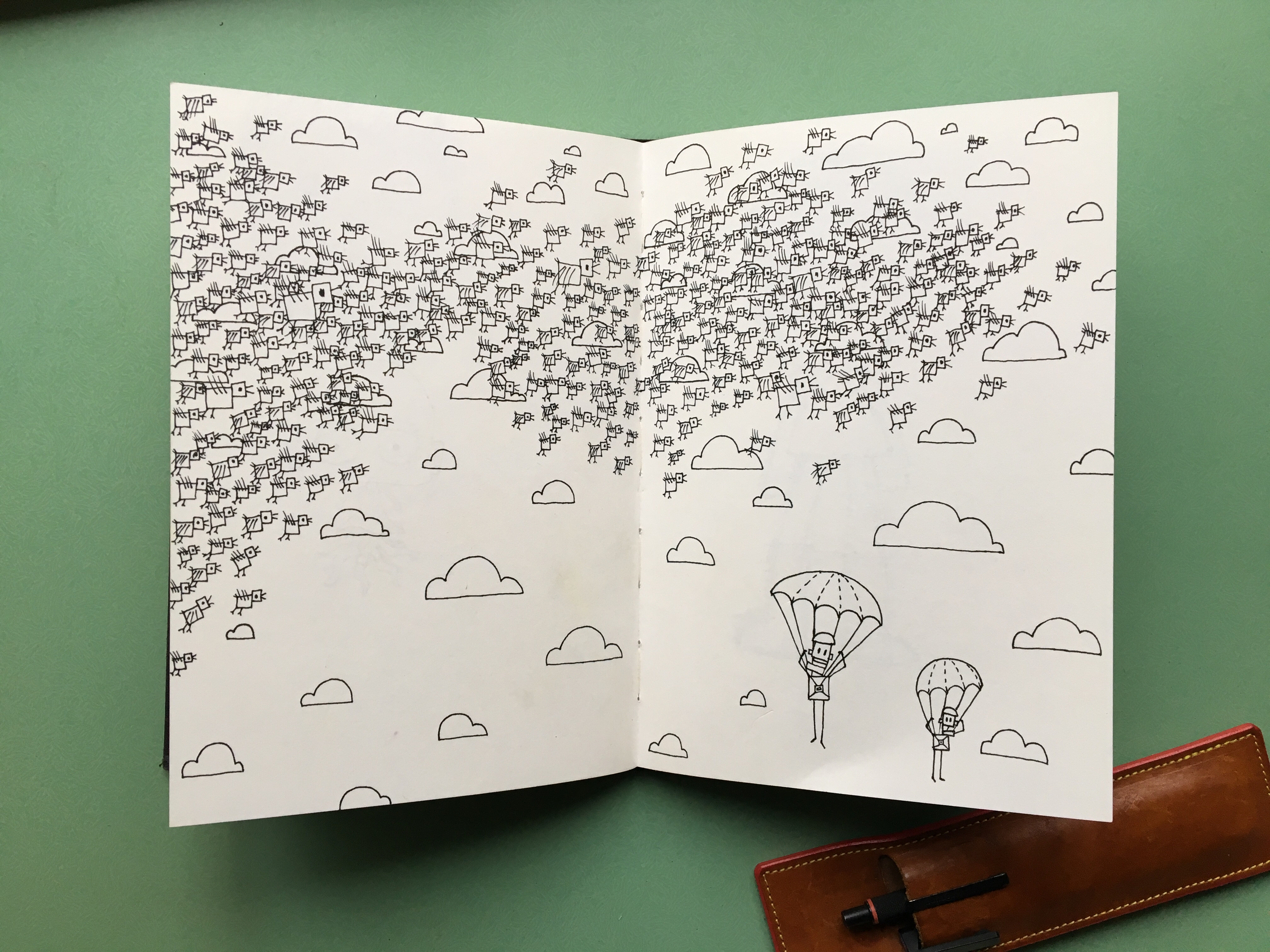 Andy Martin's Sketchbooks