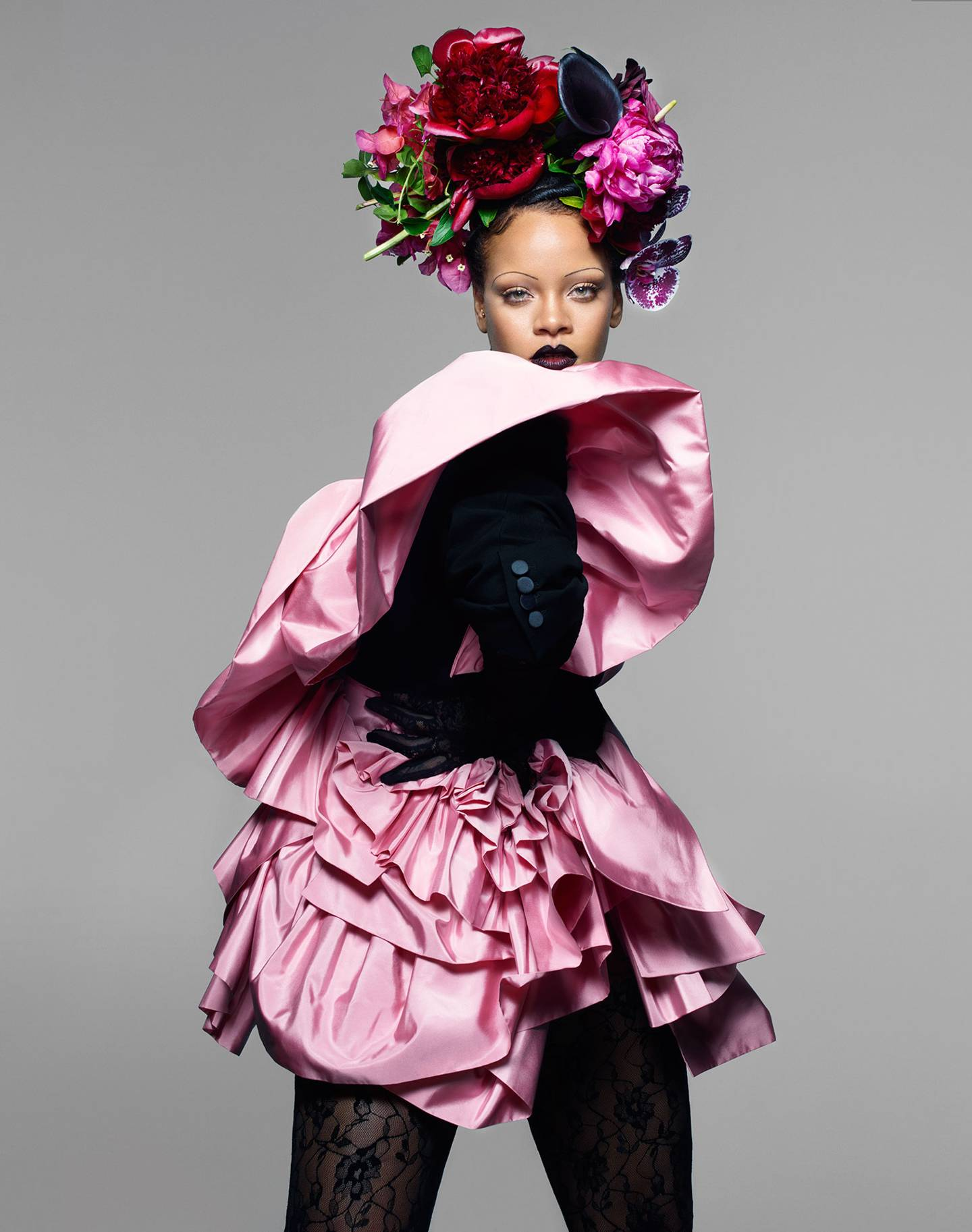 Rihanna For Vogue UK X Nick Knight