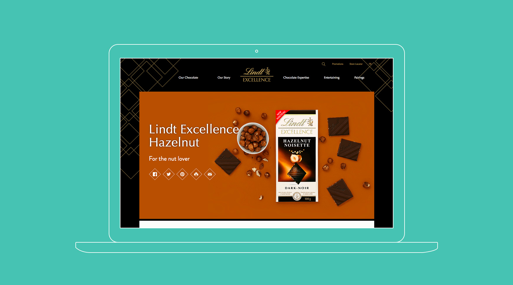 Driving Awareness Through Integrated Content for Lindt