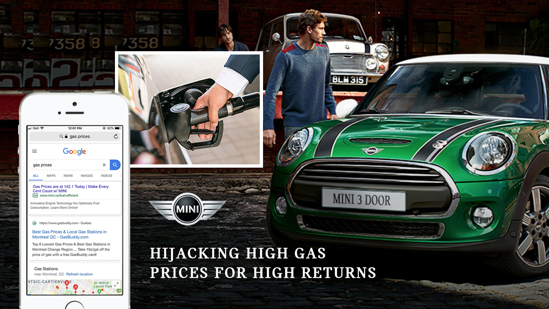 Hijacking High Gas Prices for High Returns