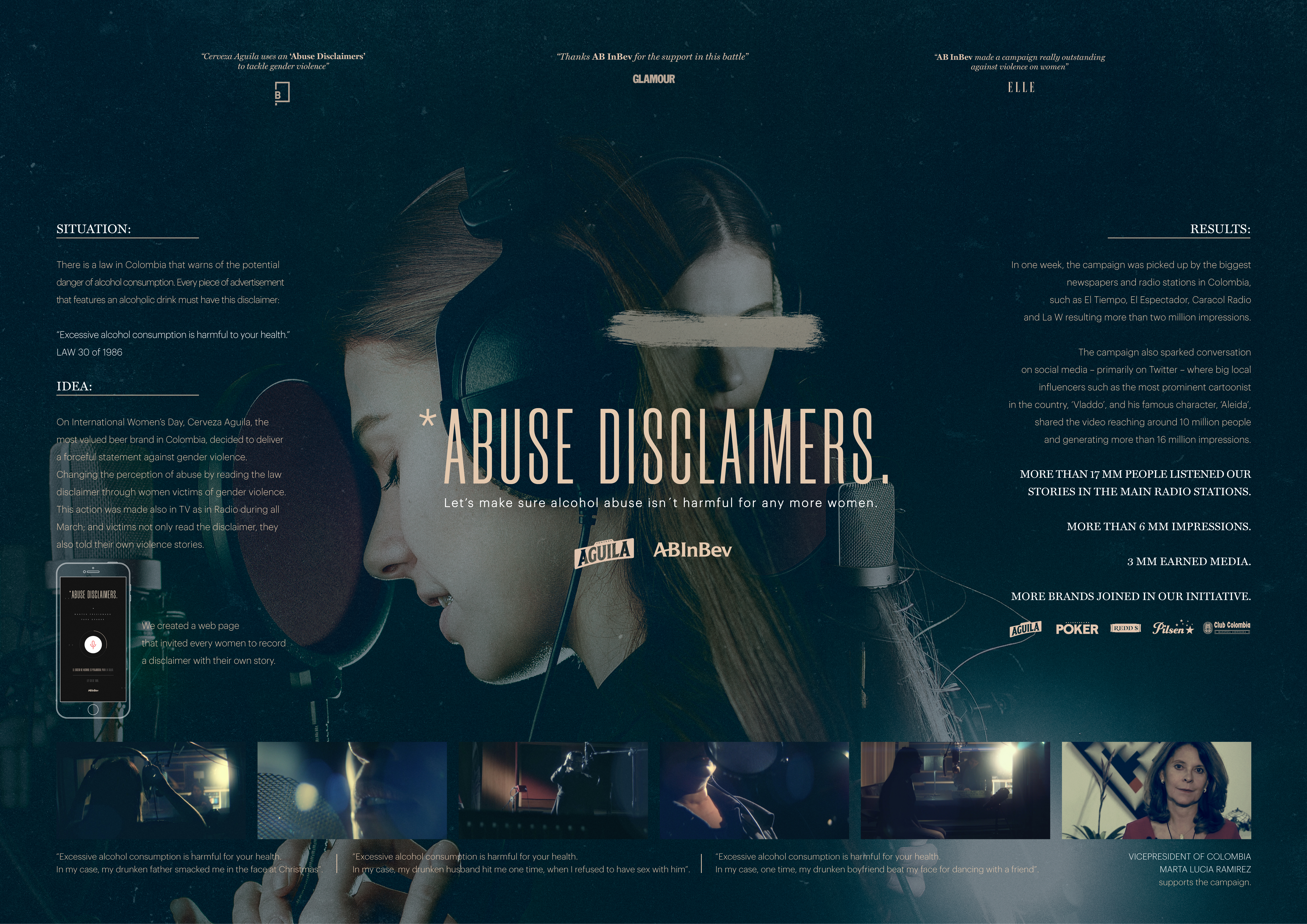 Abuse Disclaimers-support