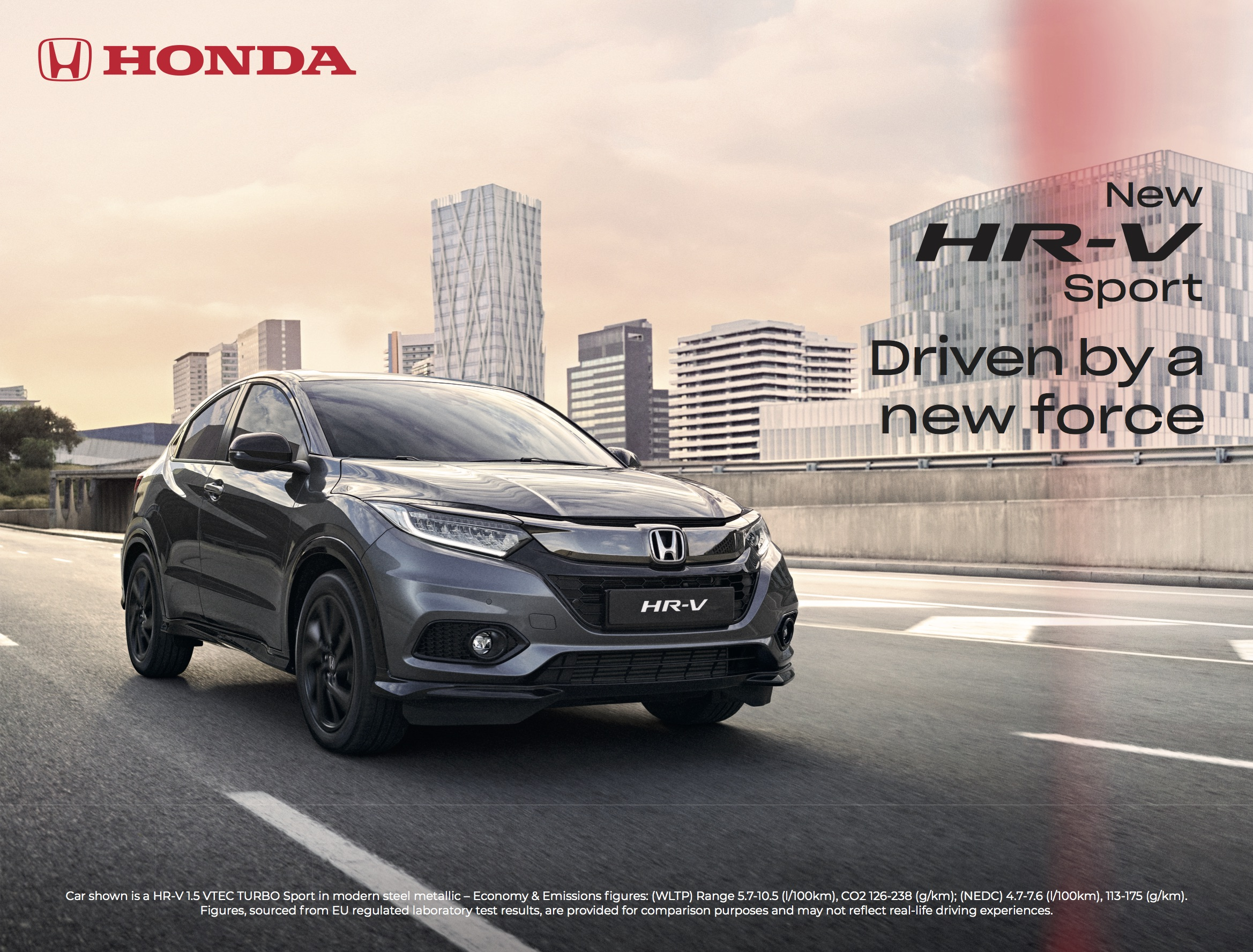 HONDA - HR-V Gravity-support