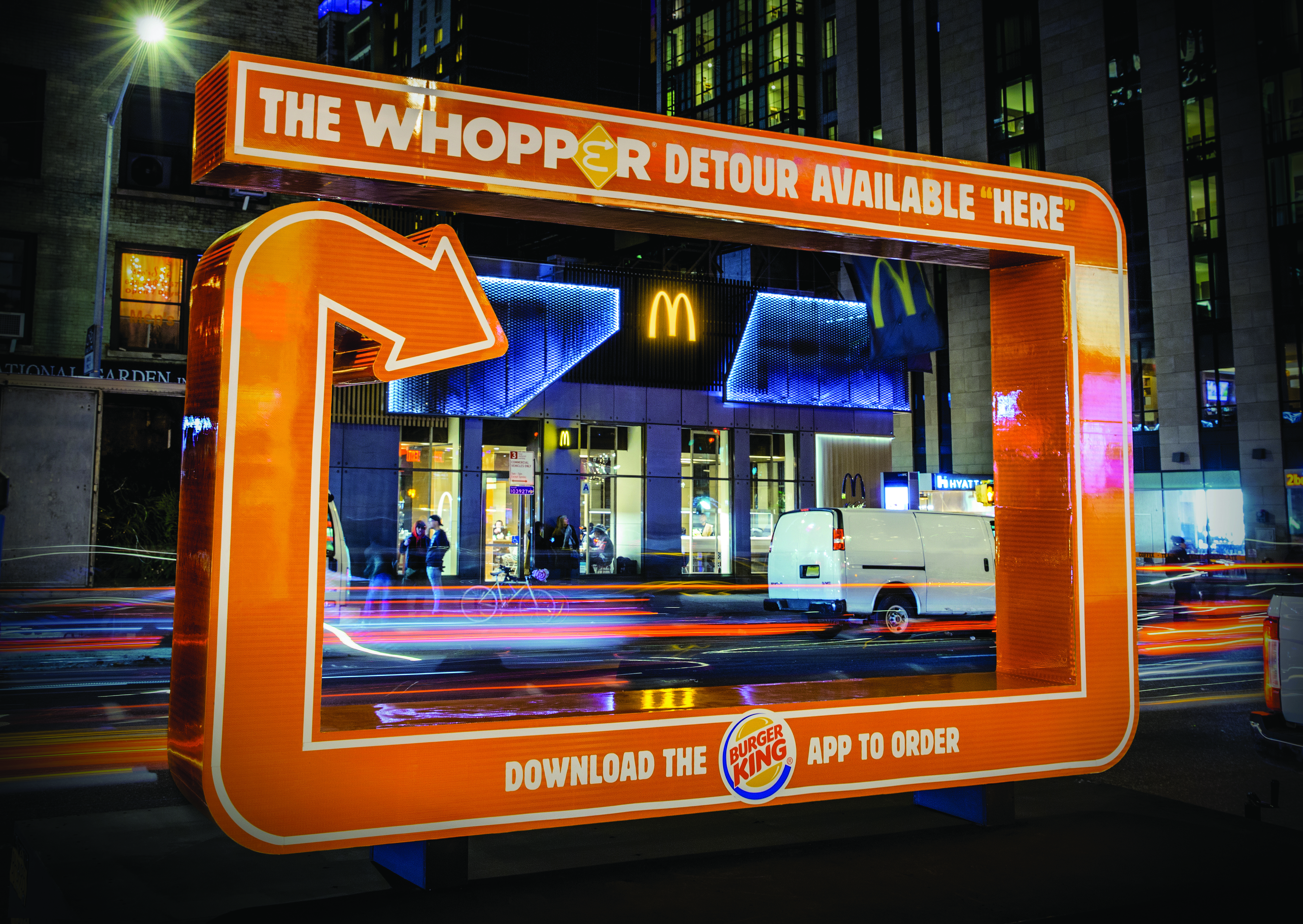 The Whopper Detour-support