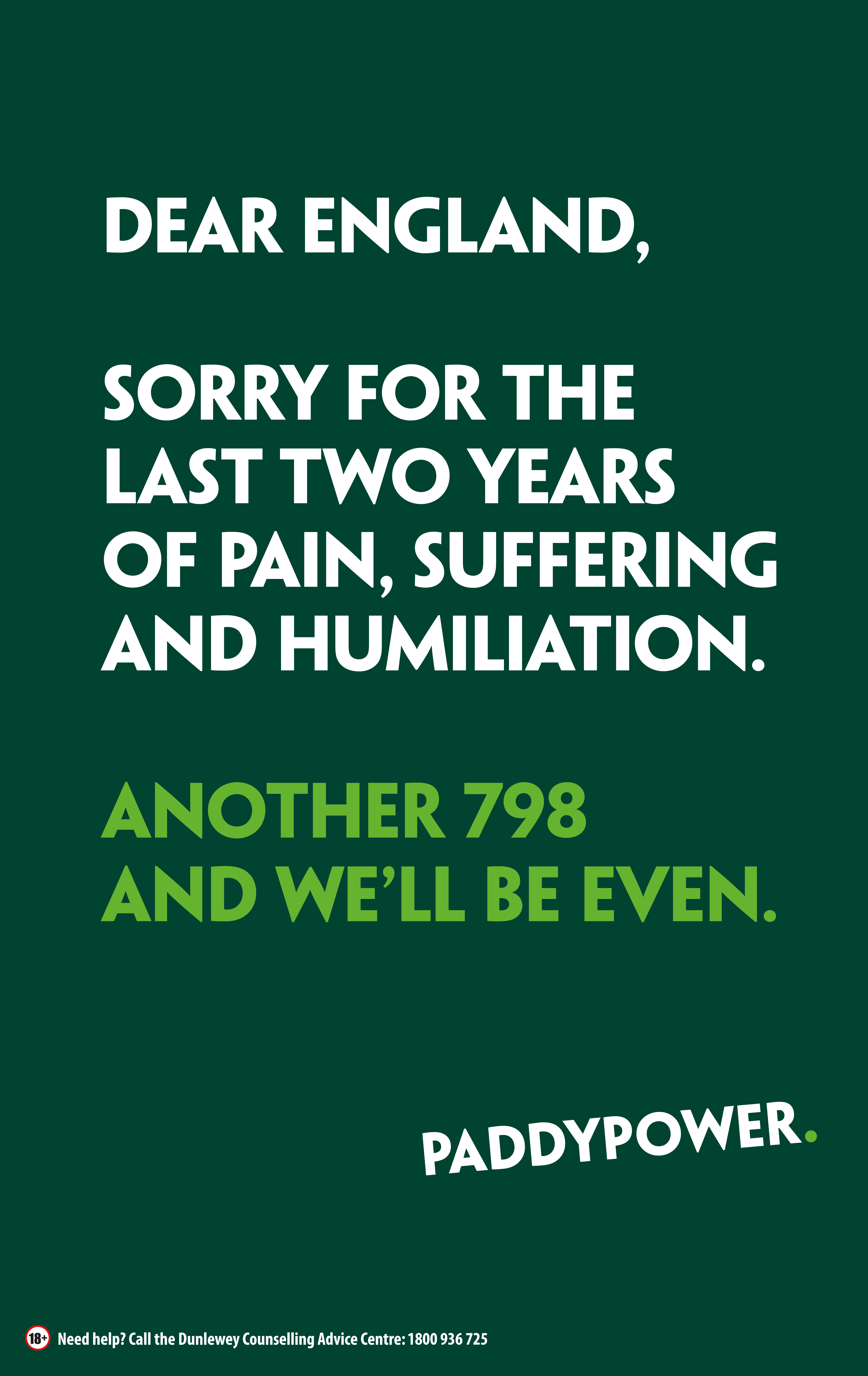 Paddy Power Brexit Bashing-support