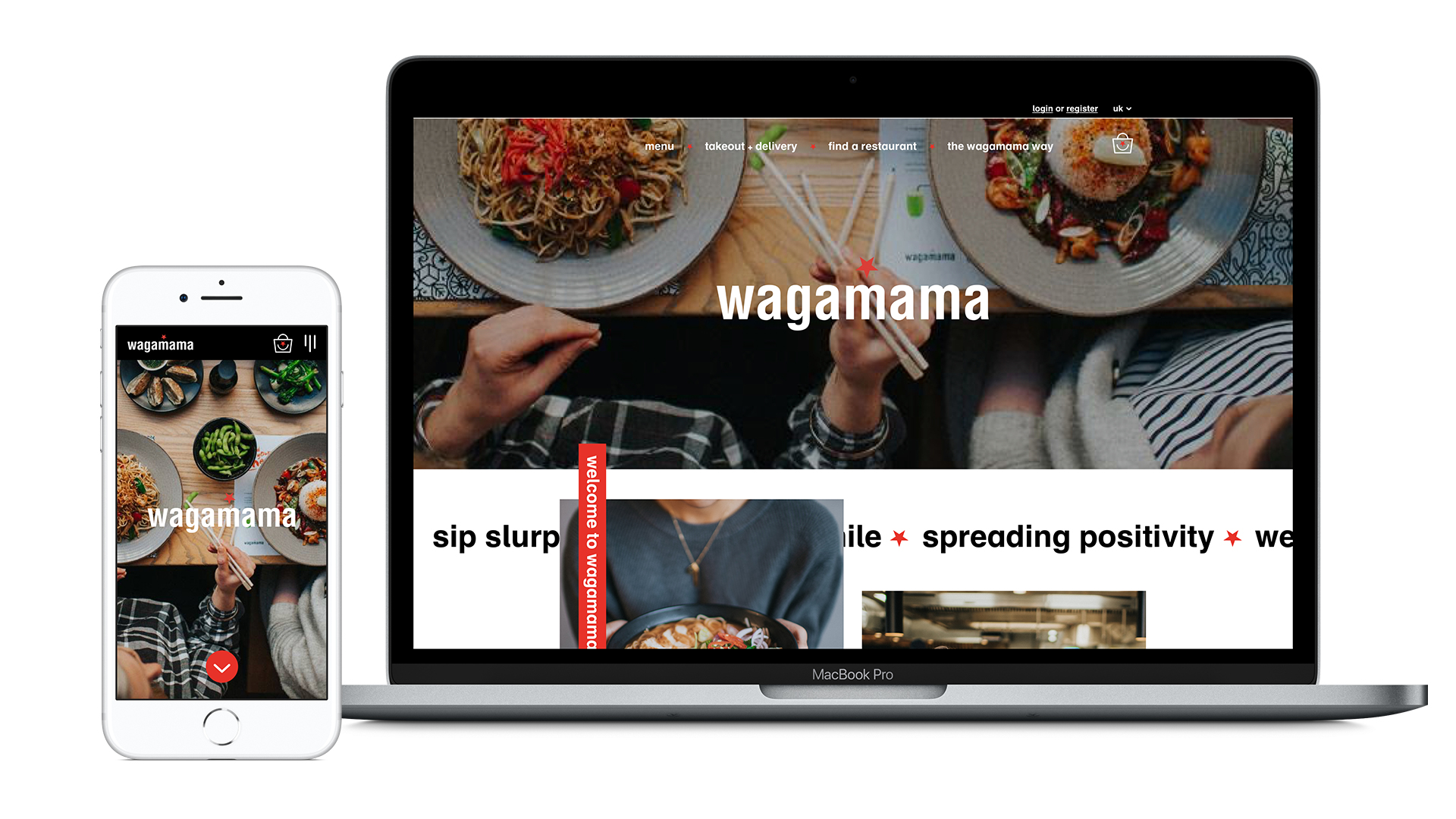 Wagamama - Website Redesign