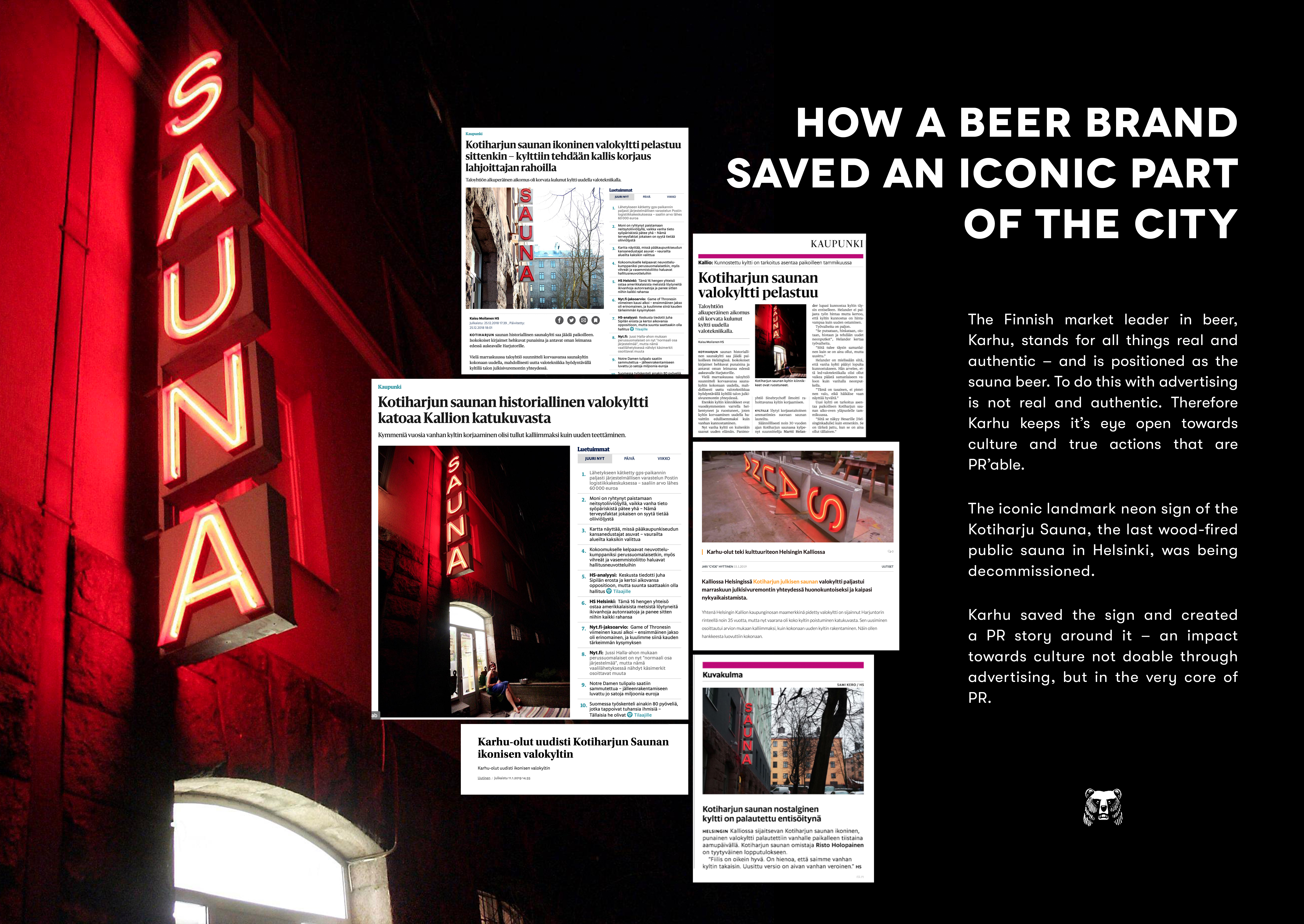 How a Beer Brand Saved An Iconic Part Of The City-support