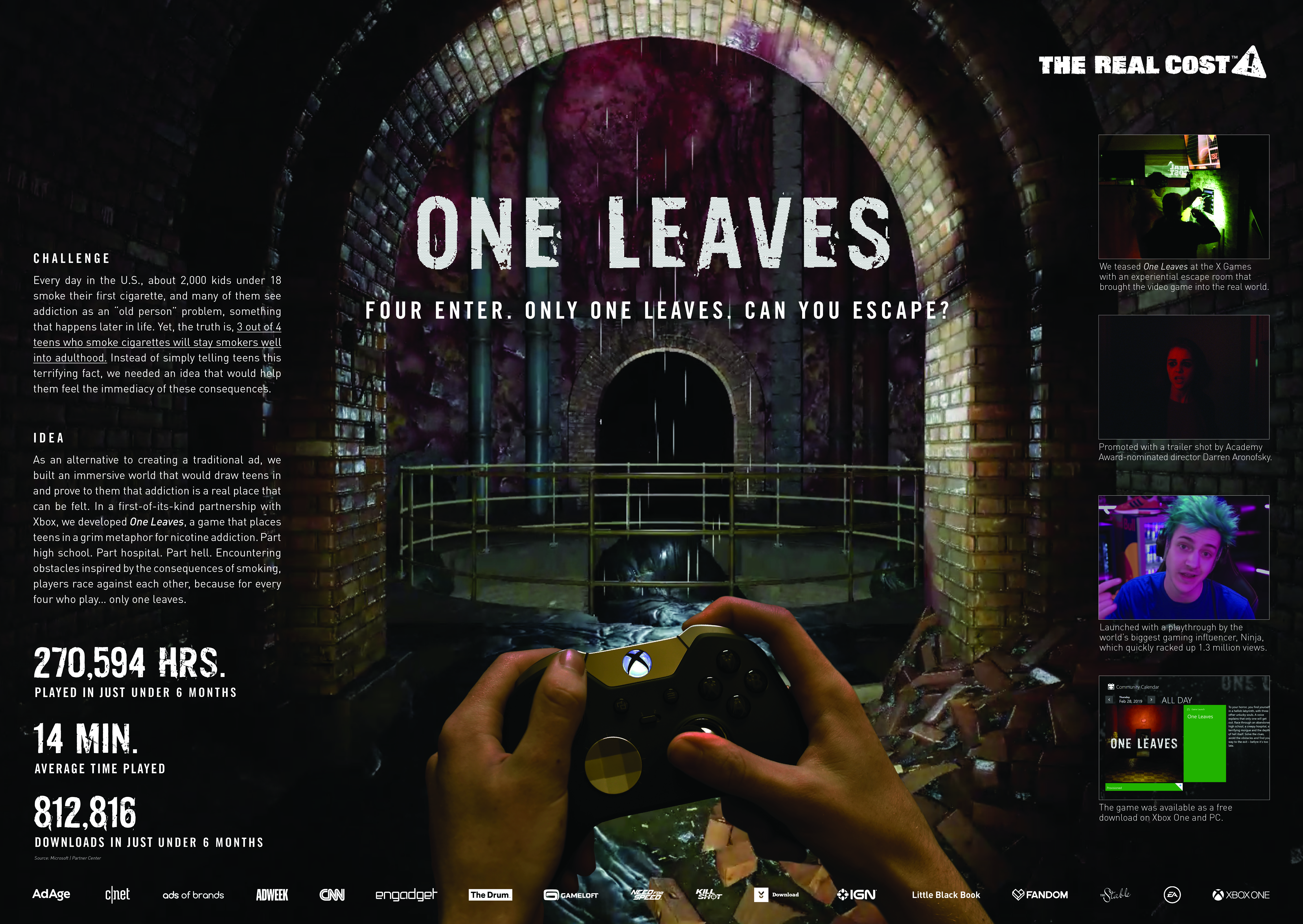 The Real Cost – One Leaves