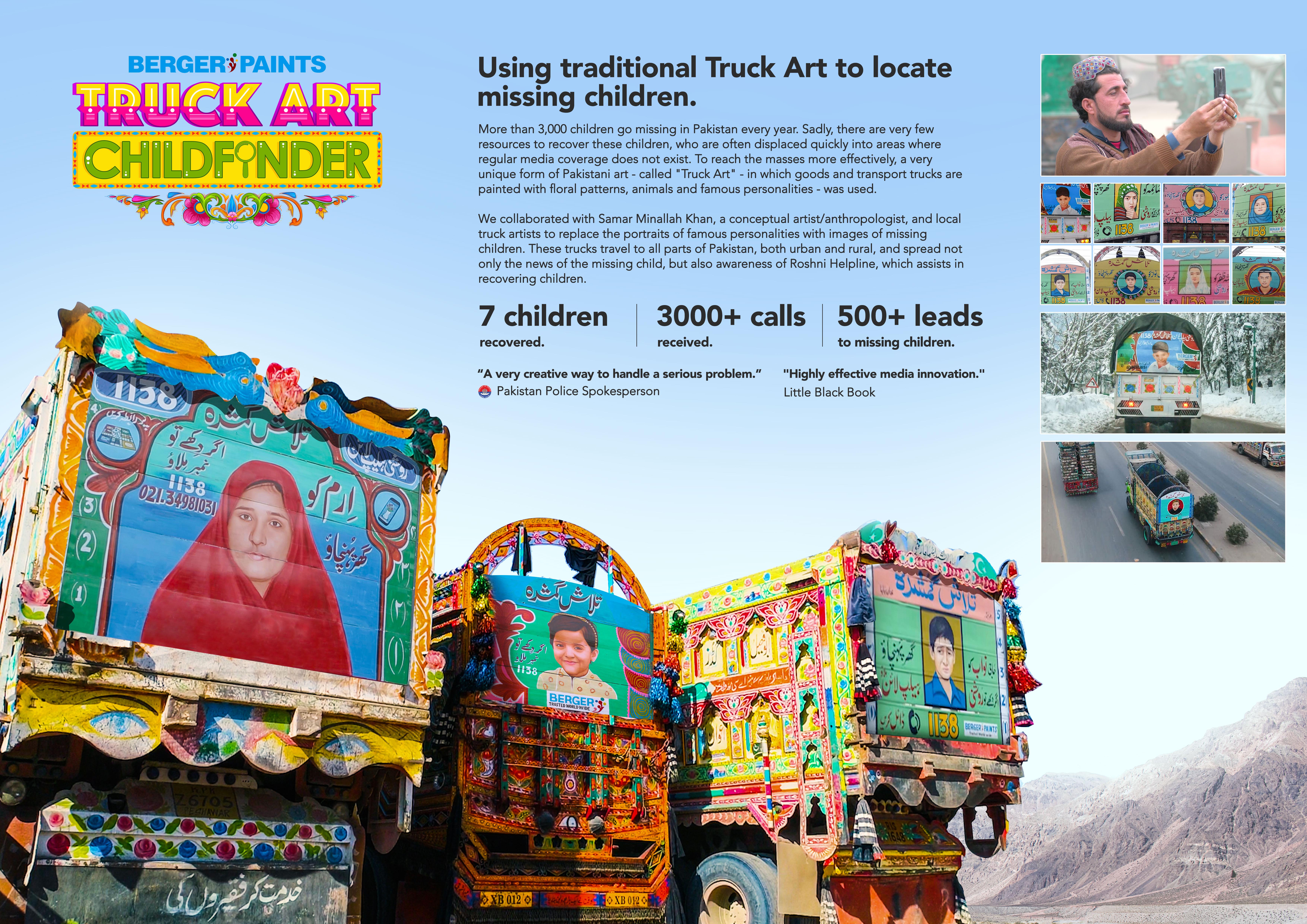 Truck Art Childfinder-support