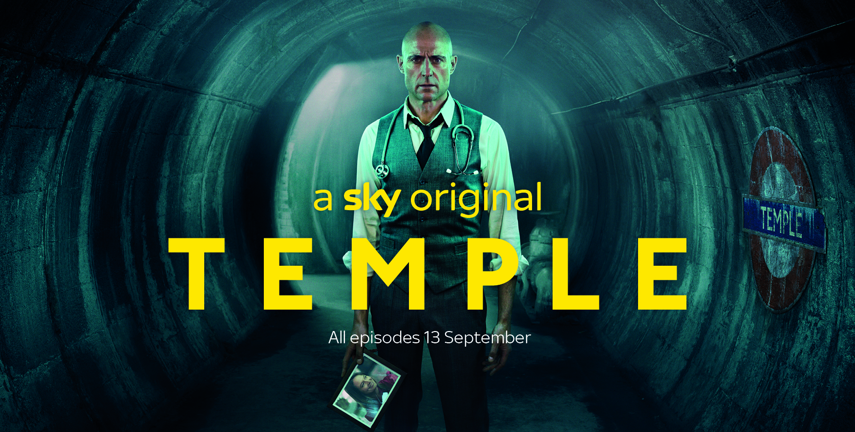 Sky One 'Temple' Key Art by Nadav Kander