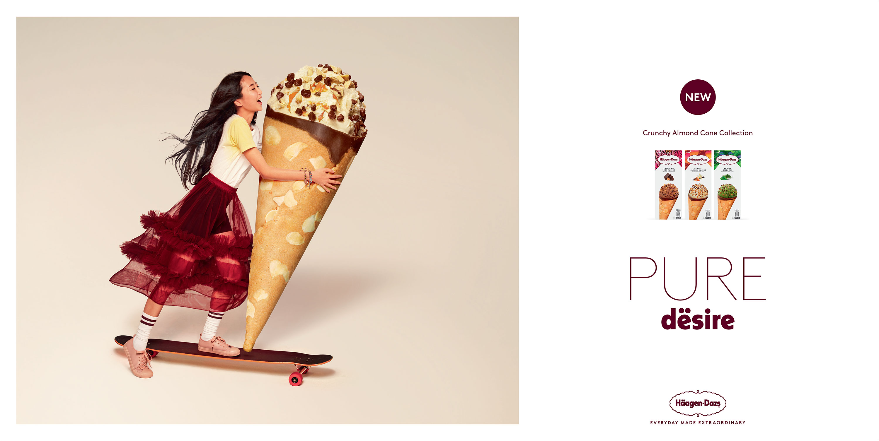 Häagen Dazs Obsessions Campaign by Alice Hawkins