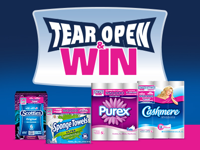 Kruger Products Gives Shoppers the Chance to Tear Open & Win