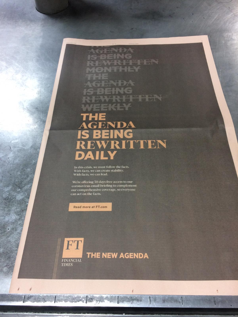 The New Agenda. Rewritten