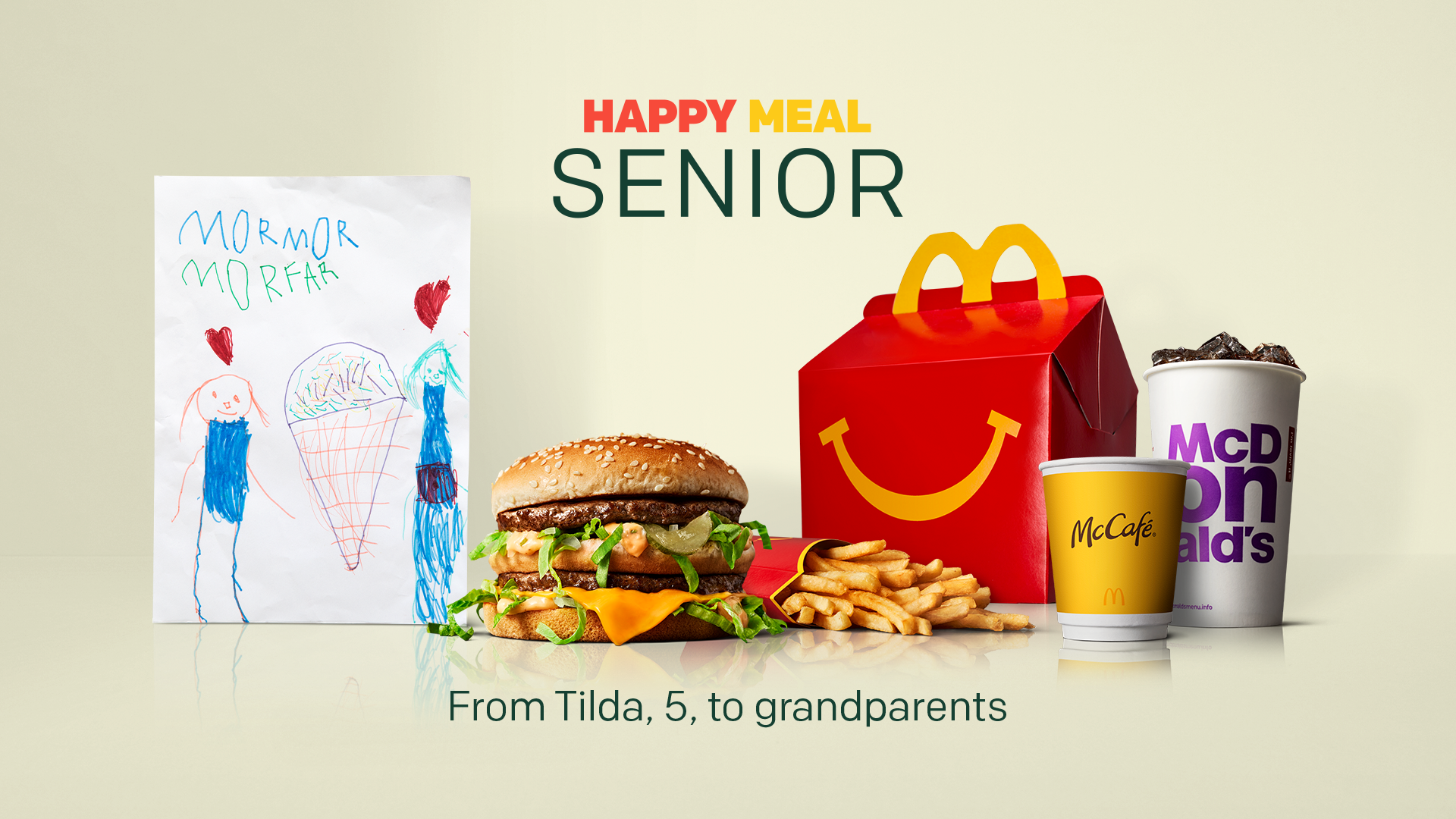 McDonald's Happy Meal Senior