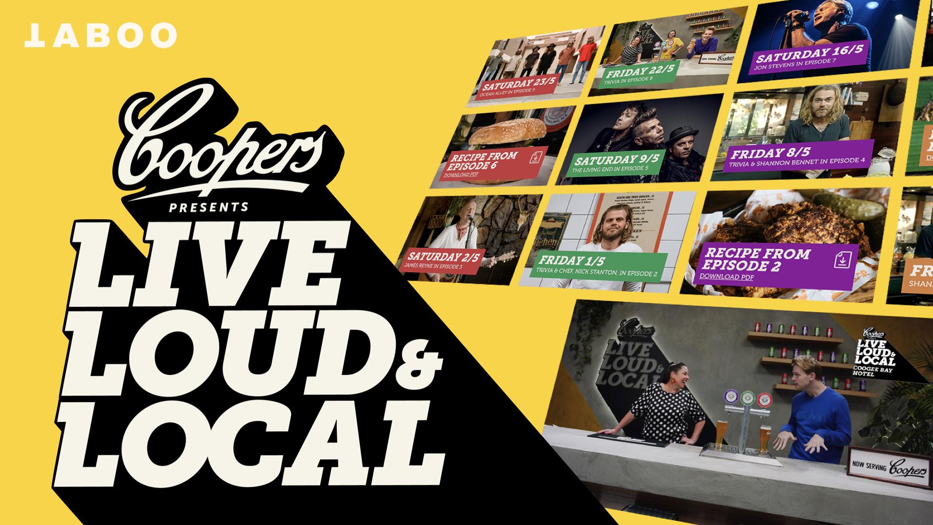 Live, Loud & Local