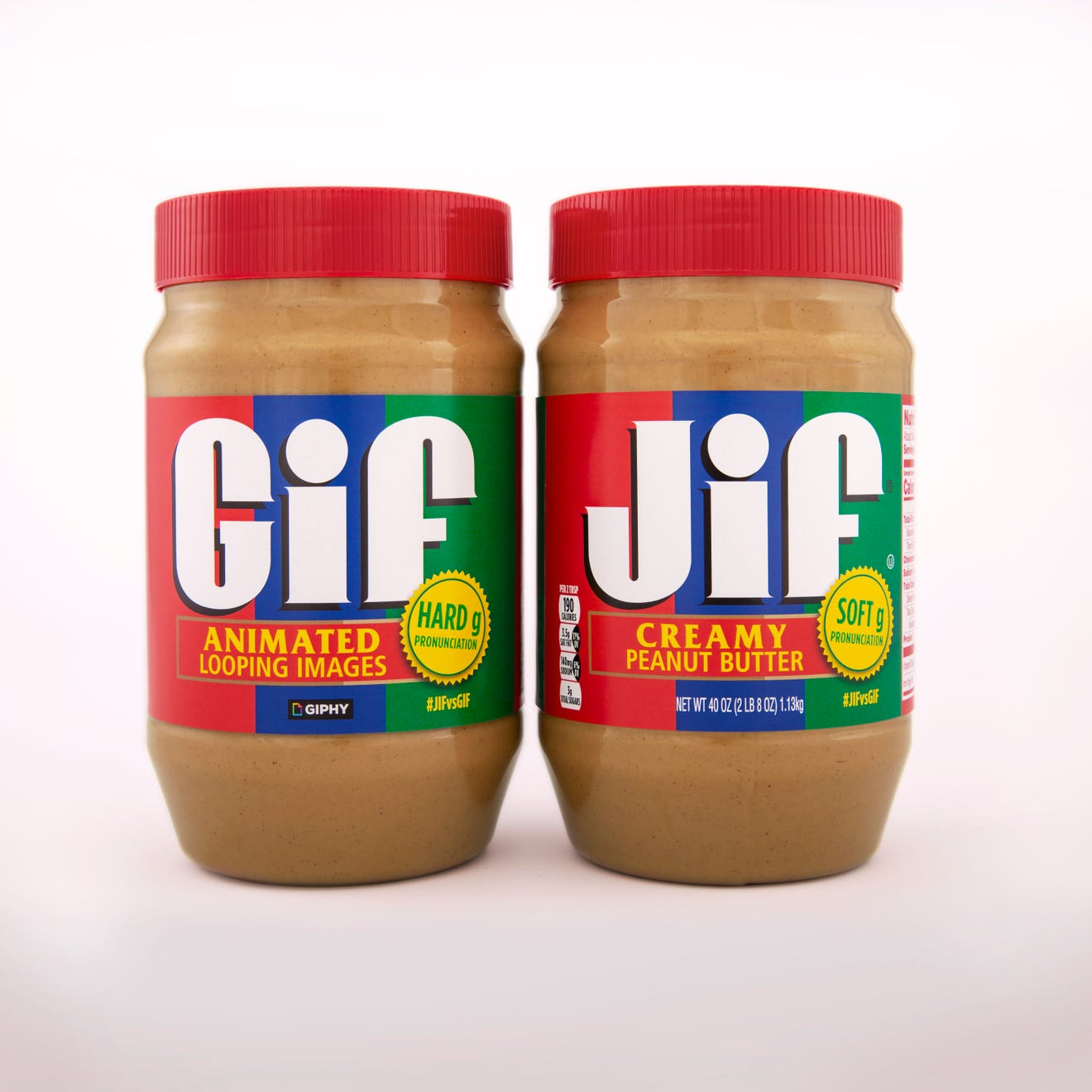 Jif vs Gif-support