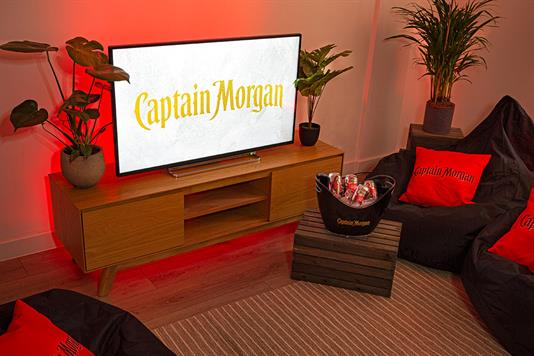 Captain Morgan - London gamers staycation