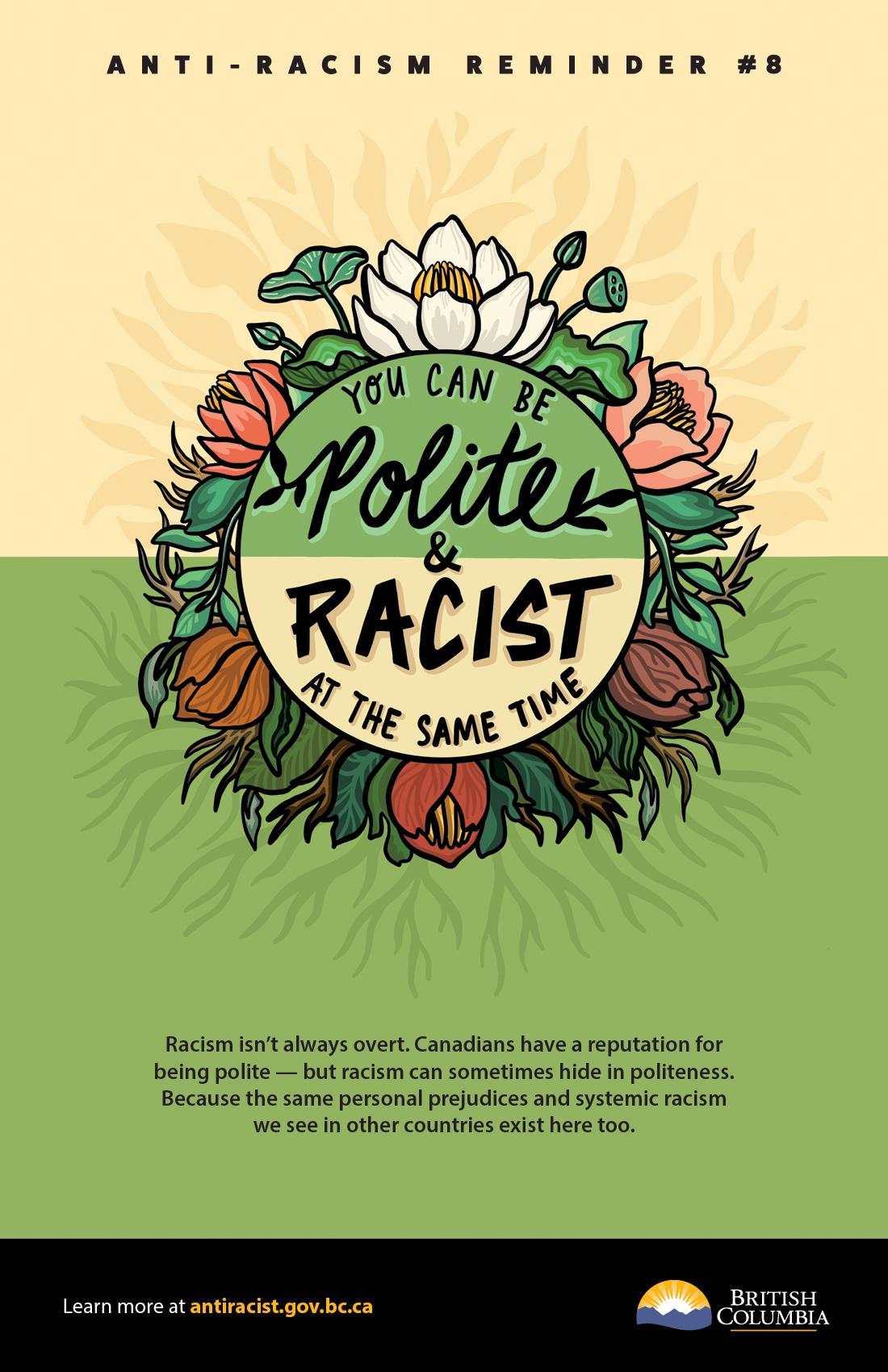 Anti-Racism Reminder #8