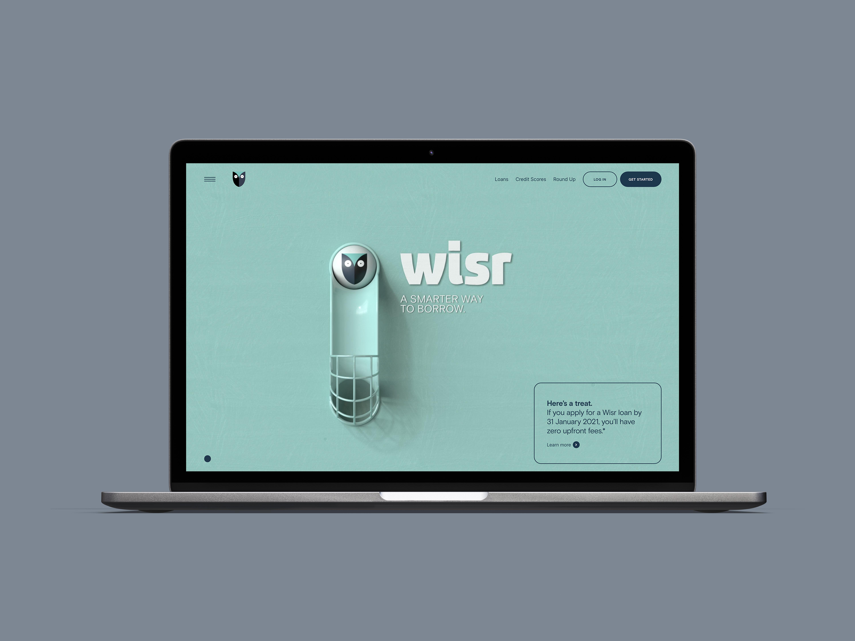Wisr - WISR Site Design