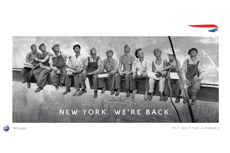 British Airways - New York. We're Back.