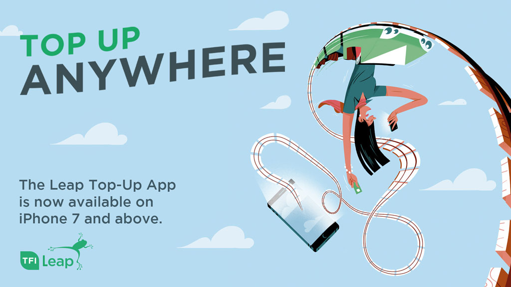 National Transport Authority - 'Leap Top-Up App'