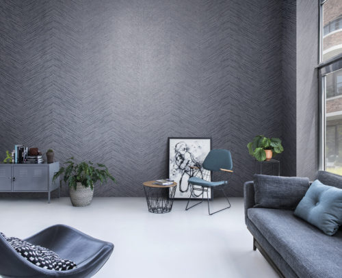 The Omexco Loft collection is a timeless collection blending several materials: a perfect harmony drawing inspiration from nature and modernity. In this non-woven there is a subtle interplay between shadow and light, matt and shine.
