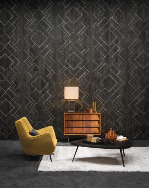 Un savoir-faire exquis crée des designs époustouflants: la collection Omexco Sycamore. Nous imaginons des formes et nous incrustons chaque pièce à la main. Élégant et intemporel. Dans ce tableau chic et contemporain, les mosaïques géométriques séduisent par leur dynamisme. Le design Villa Empain: une touche moderne à l'art déco.