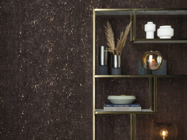 Khatam: bringing adorned nature into your home. In this decor we see the matt charcoal KHA15 in all it's glory with nice accessories by Dôme Deco.