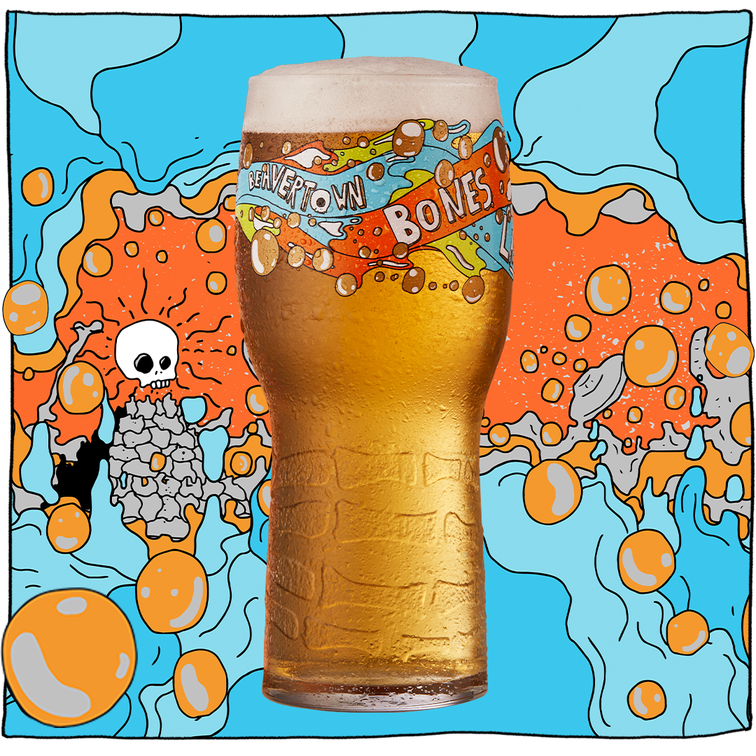 Beavertown Brewery have launched a new Lager, Bones - ONIN London
