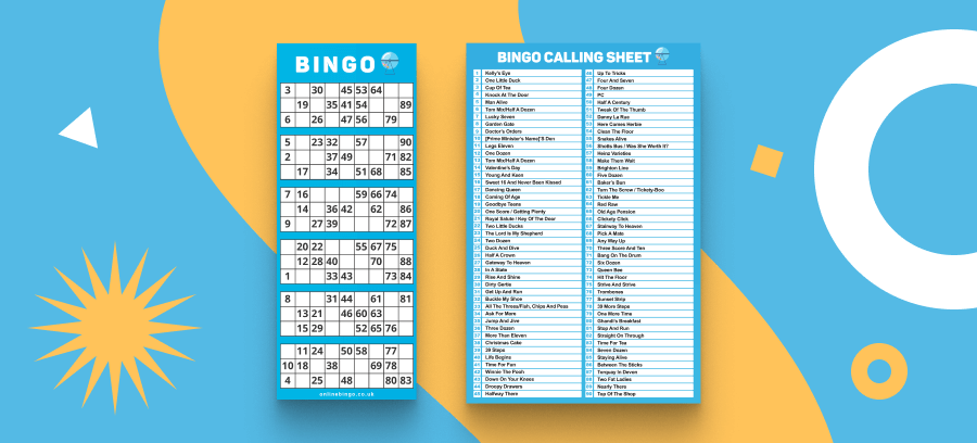 Bingo Night Ticket Header