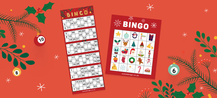Virtual Christmas Bingo Tickets