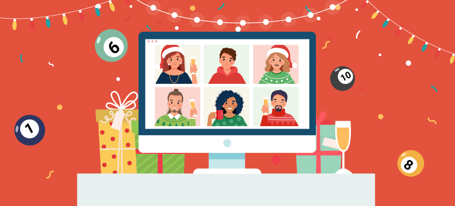 Virtual Christmas Bingo Zoom Group