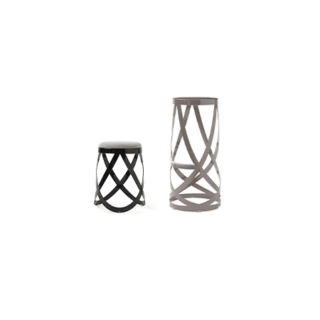 Awesome Ribbon By Nendo Stools Cappellini Squirreltailoven Fun Painted Chair Ideas Images Squirreltailovenorg