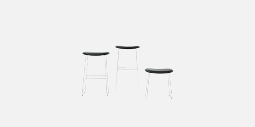 Excellent Designer Stools Modern High And Low Stools Cappellini Squirreltailoven Fun Painted Chair Ideas Images Squirreltailovenorg