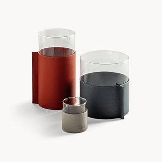 Les Objets — Leather Pot