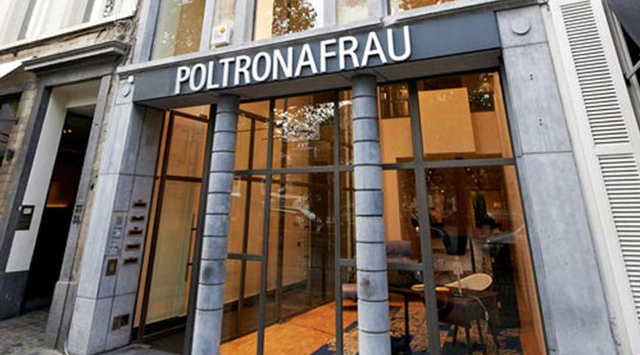 Poltrona Frau Opens Its First Flagship Store In Belgium ...